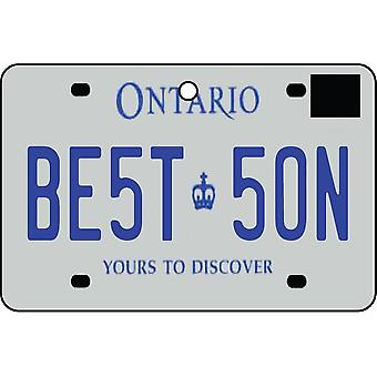 ONTARIO - beste zoon kenteken auto luchtverfrisser