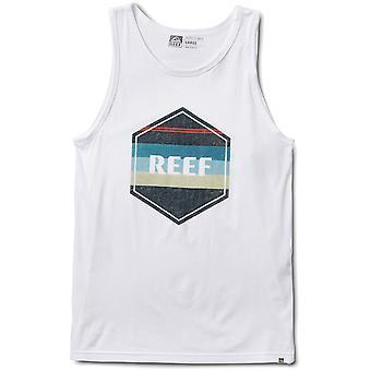 T-shirt sans manches reef Peeler Tank en blanc