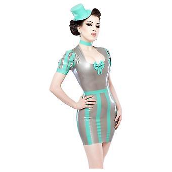 Westward związany nadnerczy Fatale gumę lateksową sukienkę.