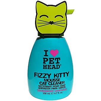 Pet Head Cat Fizzy Kitty Mousse 190ml