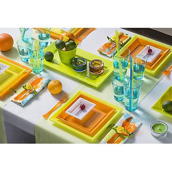 Party tableware set for 6 guests 72-teilig party package summer design party package