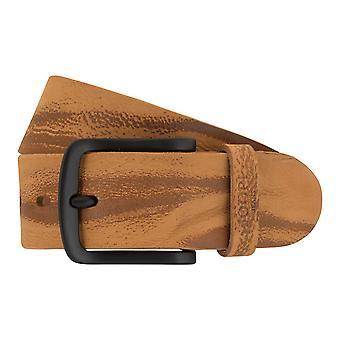 JOOP! Belts men's belts leather belt Cognac 2326