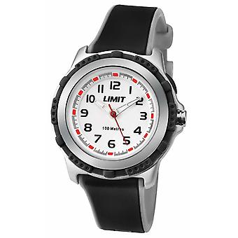 Limit Kids Active Black Resin Strap White Dial 5597.69 Watch