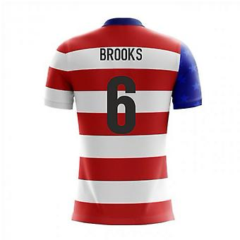 2020-2021 USA Airo Concept Home Shirt (Brooks 6)