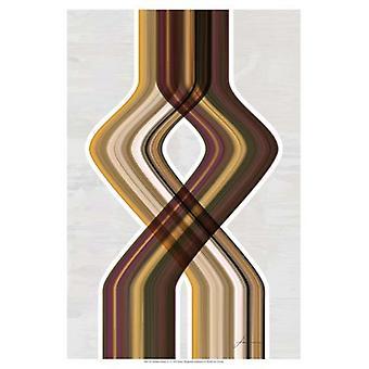 Moderne dans IV Poster trykk av James Burghardt (13 x 19)