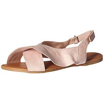 Qupid Women's X-Band Flat Sandal