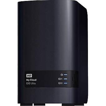 WD My Cloud™ EX2 Ultra WDBVBZ0080JCH-EESN NAS-Server 8 TB zakelijke cloud