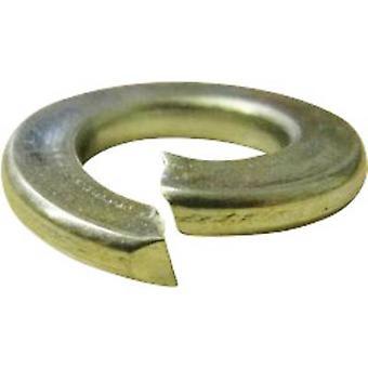 TOOLCRAFT D127-GEW. m2, 5 196380 kroužky rozděleného zámku vnitřní průměr: 2,6 mm M 2,5 DIN 127 pružinové oceli 100 PC (y)