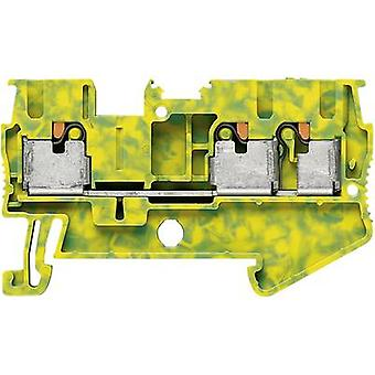 Phoenix Contact PT 2,5-TWIN-PE 3209565 Tripleport PG terminal Number of pins: 3 0.14 mm² 2.5 mm² Green, Yellow 1 pc(s)