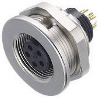 Binder 09-0416-00-05-1 Alt Minyatür Yuvarlak Fiş Konektörü Serisi Nominal akım (detaylar): 3 A