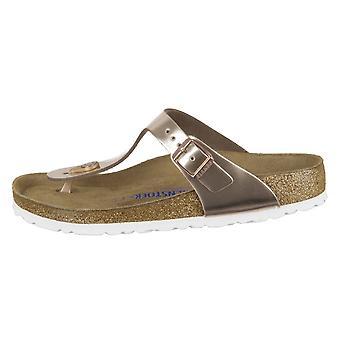 בירקנסטוק ג'יזה מתכת נחושת 1005048 הנשים האוניברסליות נעליים