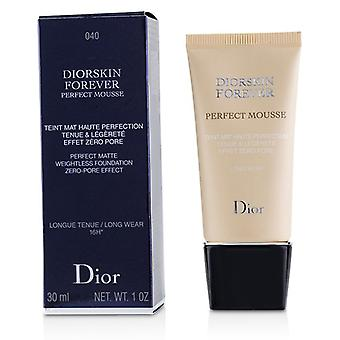 Christian Dior Diorskin Forever Perfect Mousse Foundation - # 040 Honey Beige - 30ml/1oz