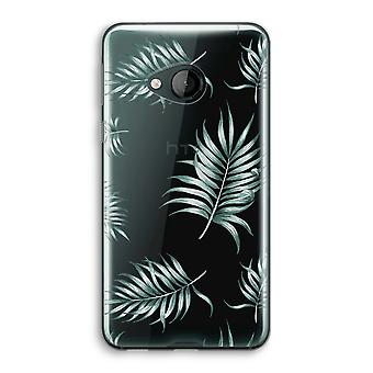 HTC U spelen transparant Case (Soft) - eenvoudige bladeren