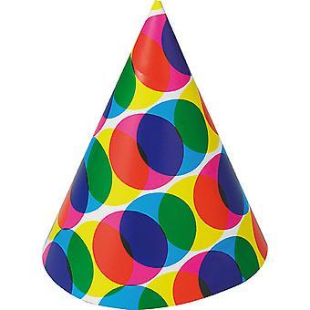 Miniatuur Hat gekleurd accessoires hoed Halloween Silvester carnaval verjaardag