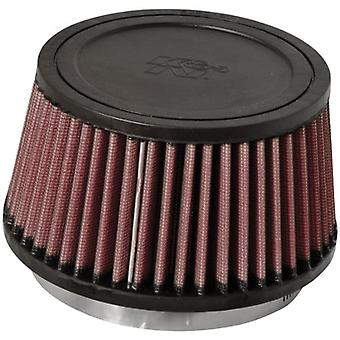K&N RU-3110 Universal Clamp-On Air Filter: Round Tapered; 4.5 in (114 mm) Flange ID; 3.25 in (83 mm) Height; 5.875 in (1