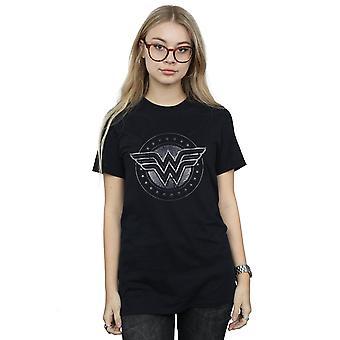 DC Comics kvinders Wonder Woman stjerne skjold kæreste Fit T-Shirt