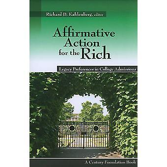 Affirmative Action für die reichen - Legacy-Präferenzen im College Admiss