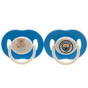 Manchester City FC officiels sucettes (Pack de 2)