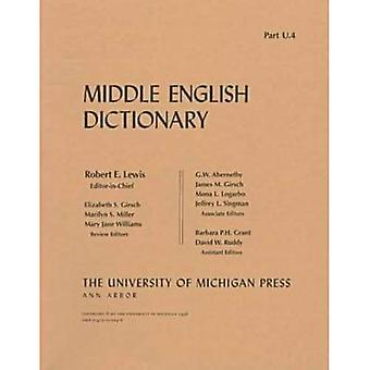 Middle English Dictionary: U.4
