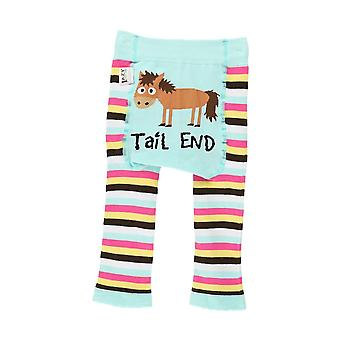 LazyOne Baby Girls Tail End Leggings
