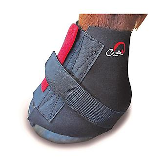 Cavallo Big Foot paard Boot Touch bevestiging Pastern Wrap