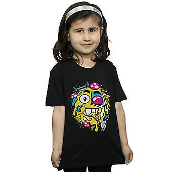 DC Comics девочки Teen Titans идти пиццы лица футболку