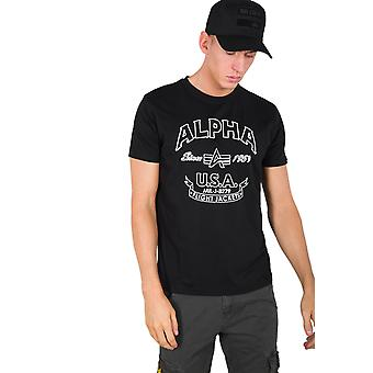 Alpha Industries Herren T-Shirt Alpha FJ