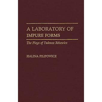 Um laboratório de impuro forma peças de Tadeusz Rozewicz por Filipowicz & Halina