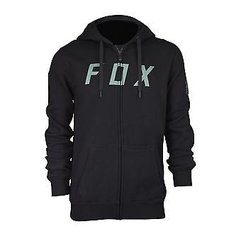 Fox Racing Mens District 2 Zip Fleece Hoodie - Black