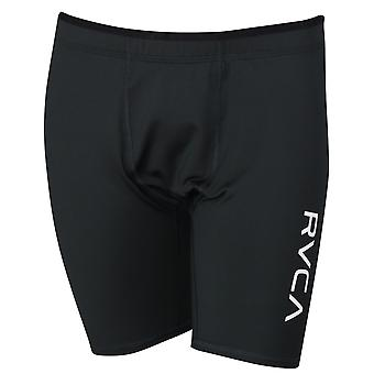 RVCA Mens VA Sport Compression Shorts - Black