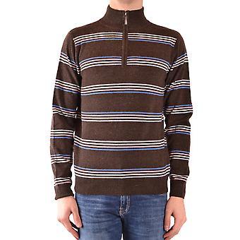 Gant Ezbc144002 Uomini's Maglione di lana marrone