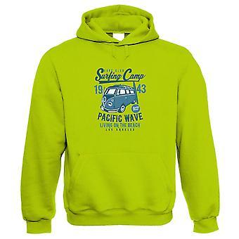 Bluza z kapturem surfing Camp | Sand Sea Sun Ocean Tan opalanie fala latarnia morska | Pływanie Snorkel nurkowanie Windsurfing Surfing nurkowanie | Pop kultury prezent mu jej urodziny