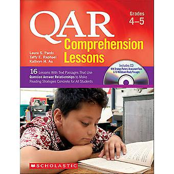 Qar Comprehension Lessons - Grades 4-5 - 16 Lessons with Text Passages