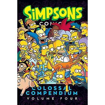 Simpsons Comics-colossal Compendium-volume 4 par Matt Groening-978