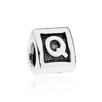 Pandora Alpha Q Argento iniziale Charm 790323Q