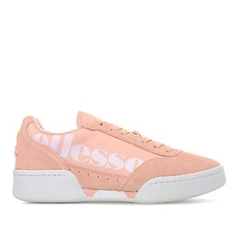 Womens Ellesse Piacentino Suede Trainers In Dusty Pink