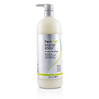 DevaCurl Wash Day Wonder (Pre-Cleanse Slip Detangler - For All Curl Types) 946ml/32oz