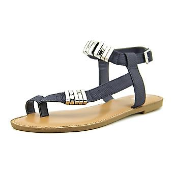 Bar III Womens Verna Split Toe Casual Ankle Strap Sandals
