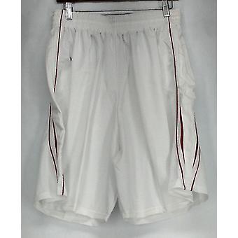 Holloway (XXL) atletische mesh shorts w/rode accenten wit Womens