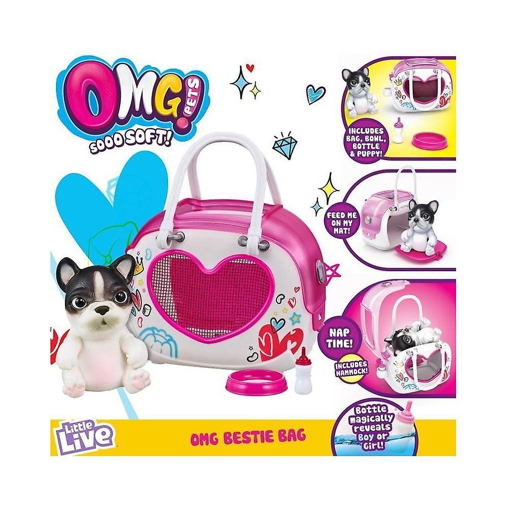 Små levande husdjur OMG Beastie Bag