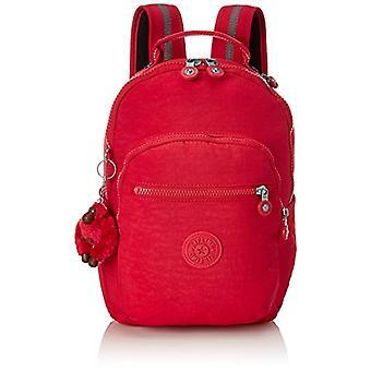 Kipling Seoul Go - Unisex Kids Backpacks - Pink (True Pink) - 15x24x45cm (W x H x L)
