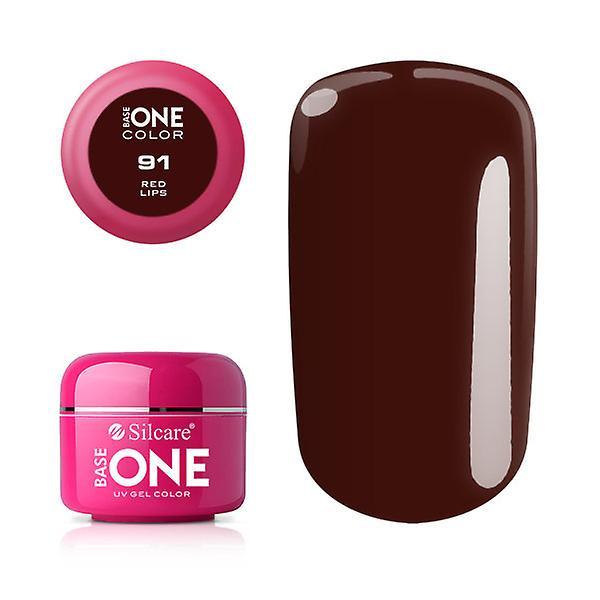 Base en-farge-røde lepper 5G UV gel