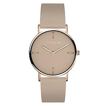 LIEBESKIND BERLIN reloj de pulsera de mujer de cuero LT-0203-LQ