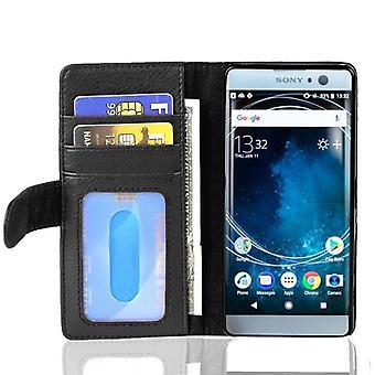 Cadorabo geval voor Sony Xperia XA2 gevaldekking-telefoon geval met magnetische sluiting en 3 kaartsleuven-gevaldekking geval geval geval geval boek vouwen stijl