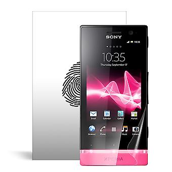 Celicious Vivid plus milde Anti-Glare Screen Protector film compatibel met Sony Xperia U [Pack van 2]