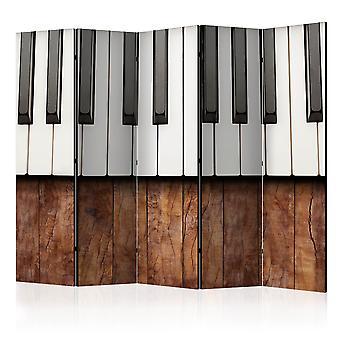 Skærmvæg - Inspired by Chopin - mahogany [Room Dividers]