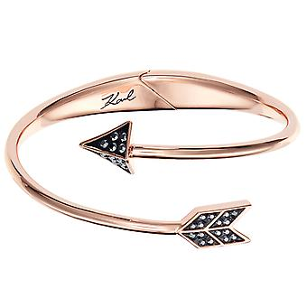 Karl Lagerfeld Women Plated Rose Gold Not Available Bracelet 5483607