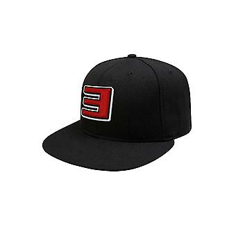 Eminem Baseball Cap Slim Shady Logo new Official Black Snapback