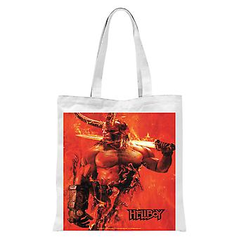 Hellboy Son Of The Fallen One Tote Bag - White