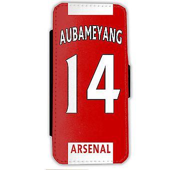 Aubameyang Arsenal Samsung S9 Monedero Caso Shell